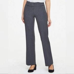 Loft Dark Grey Stretch Slacks